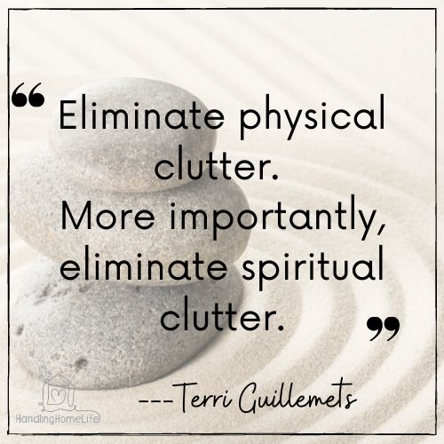 remove clutter